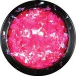 Vivid ice sheet neon pink