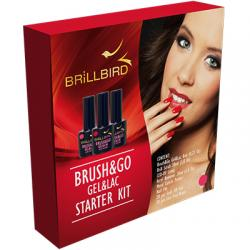 Brush & Go Gel & Lac Starter Kit GOGL33
