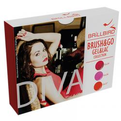 Brush & Go Gel & Lac Diva Collection Kit