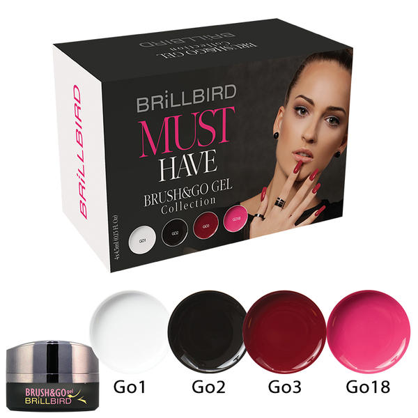 Must Have Brush & Go Gel Kit