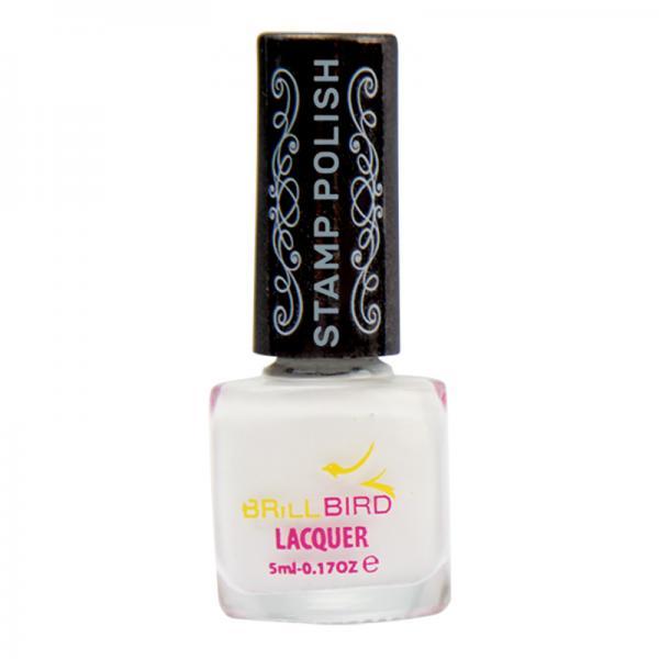 Nail Stamping polish – White