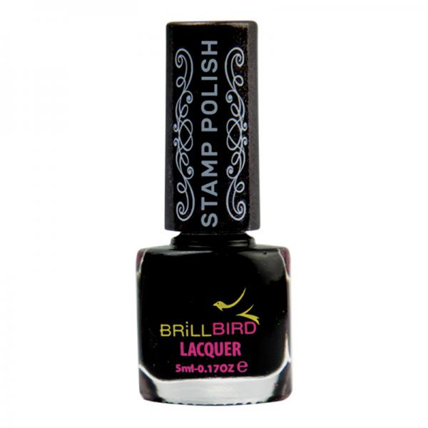 Nail Stamping polish – Black