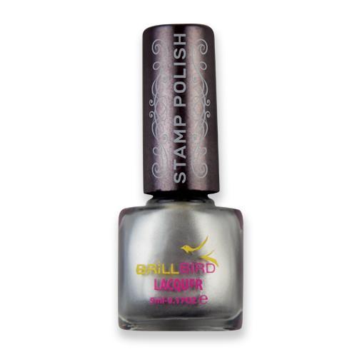 Nail Stamping polish – Silver