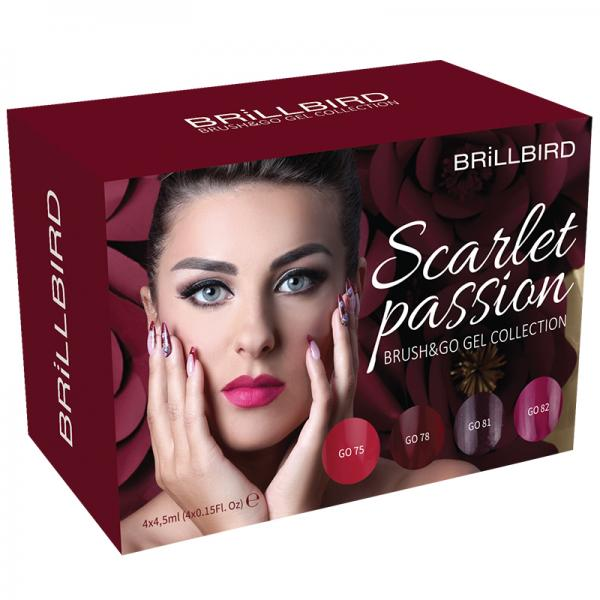 Scarlet Passion Brush & Go Gel Kit